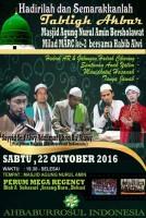 Jadwal Taklim Ahbaburrosul _ 22 Oktober 2016